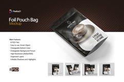 Foil Pouch Bag Mockup Product Image 1