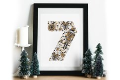 Numbers. Nutcracker. Christmas. Product Image 4