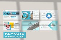 Aqua Business Keynote Product Image 1