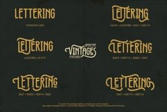 Vintages Typeface Product Image 5