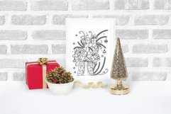 Christmas SVG Gifts Doodles Product Image 5
