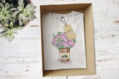 Peonies and Succulents Product Image 4