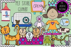 Pet Store Clipart Product Image 1