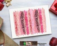 Valentine Leopard Brush Stroke Dye Sublimation Product Image 5