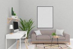 Interior mockup - blank wall mock up Product Image 3