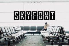 Skyfont Font Family - Sans Serif Product Image 1