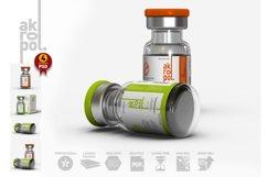 Vial Bottles Mock Up Product Image 3