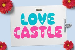 Love Castle - A Fun Display Font Product Image 1