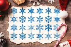 500 Snowflake Vector Ornaments Product Image 4