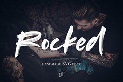 Rocked SVG Font Product Image 1