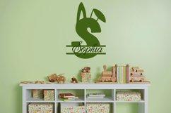 Web Font Snuggle Bunny Font Plus Easter Monogram Font Product Image 4