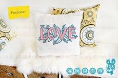 Love svg, word LOVE svg design Product Image 3