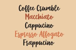 Coffee Crumble - A Handwritten Inky Font OTF TTF Product Image 3