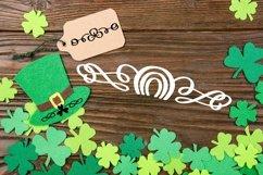 Web Font Lucky Dingbats - A Dingbat St Patrick's Day Font Product Image 5