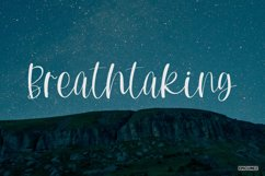 Mountain Side - A Lovely Handwritten Font Product Image 5