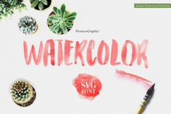 Watercolor Opentype-SVG Font Product Image 1