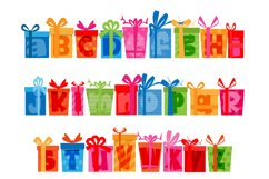 Birthday SVG Font Duo Product Image 6