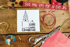 Days Until Christmas Svg Product Image 5