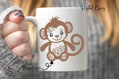 Monkey SVG / PNG / EPS / DXF Files Product Image 3