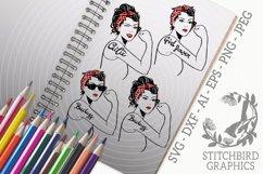 Rosie Bundle 2 SVG, Silhouette Studio, Cricut, Eps Product Image 1