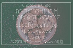 Chocolate Chips Font Product Image 2