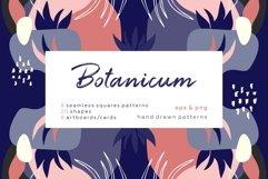 Botanicum. Modern and abstract pattern set. Product Image 1