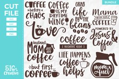 Coffee Lover Bundle 11 Designs SVG DXF EPS PNG Product Image 1