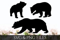 Bear SVG & PNG File Product Image 1
