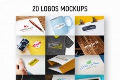 20 Logos Mockups Product Image 1