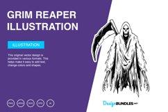 Grim Reaper Vector Illustration Product Image 1