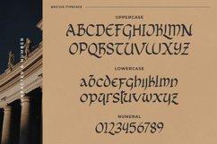 Bricius - Display Celtic Typeface Product Image 6