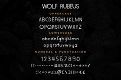 Wolf Rubeus Product Image 5