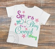 Cowgirl svg, Cowgirl svg, Spurs svg, Bling, Cowgirl thing Product Image 2