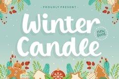 Winter Candle Modern Handbrushed Font Product Image 1