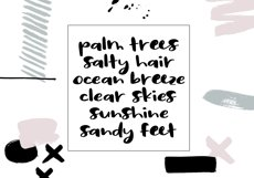 Sassy - A Bold Script Font Product Image 5