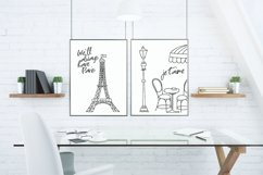 Paris Eiffel Tower Wall Art Printable Product Image 3