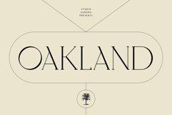 Oakland - Decorative Display Serif Product Image 1