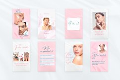 """Beauty Pink Stories, Instagram Canva Tempates """"ROSY"""" Product Image 2"""