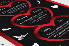 Valentines Day Menu Template V4 Product Image 6