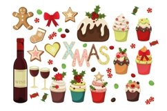 Christmas Gingerbread Cookies and Sweets Product Image 2