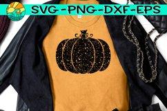 Pumpkin - Grunge - Distressed - SVG PNG EPS DXF Product Image 1