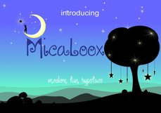 MICALOOX Funny Typeface Product Image 1