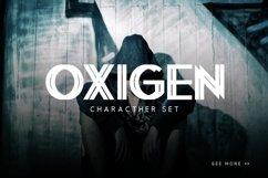 Oxigen | A Minimal Logo Typeface Product Image 5