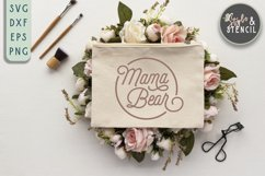 Mama Bear SVG   Mama   Mama Shirt Product Image 5