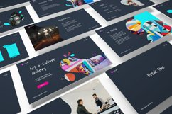 Art Gallery Keynote Template Product Image 3