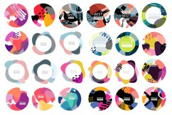 Abstract sale web template banner set Product Image 2