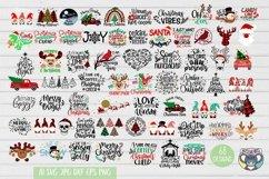 Christmas svg, Nativity Scene, O Holy Night, Santa, Reindeer Product Image 1