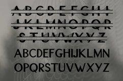 Spider Web Split Font - A Monogram Font Product Image 2