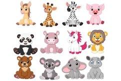 Cartoon Baby Animal Bundle Product Image 1
