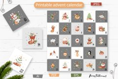 Christmas collection with cute animals Product Image 3